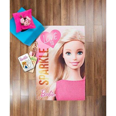 Resim Taç Barbie Sparkle Halı