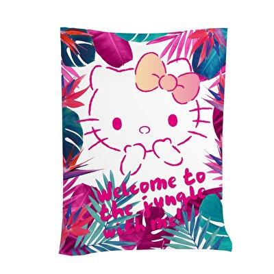 Resim  Hello Kitty Jungle Pamuk 160x230 cm Pike