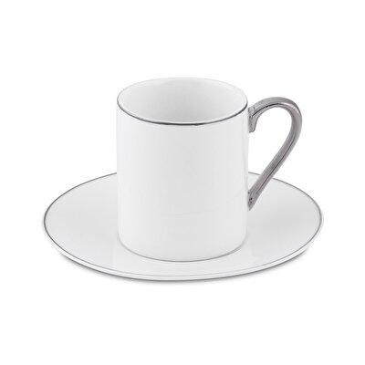 Resim Bianca Luna Sweet Silver 6'lı Kahve Fincan Seti