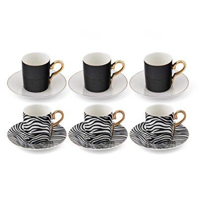 Resim Linens Zebra Kahve Fincanı