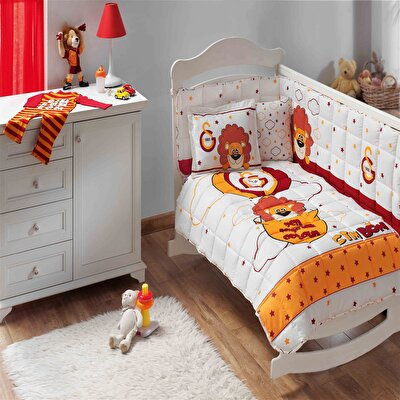 Resim Taç Galarasaray Balloon Baby Uyku Seti