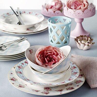Resim Pierre Cardin Camellia 6 Kişilik 24 Parça Yemek Takımı