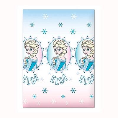 Resim  Disney Frozen Summer Pamuk-Polyester Tek Kişilik Pike