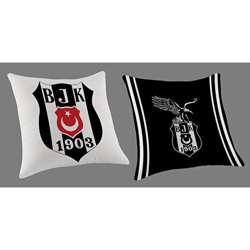 Resim  Beşiktaş Logo Peluş Yastık