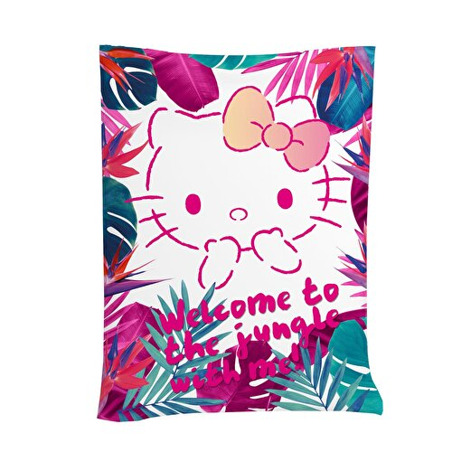 Resim  Hello Kitty Jungle Pamuk 160x230 cm Pike