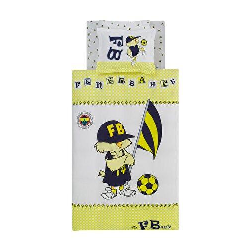 Resim Taç Fenerbahçe Star Baby Bebek Nevresim Takımı