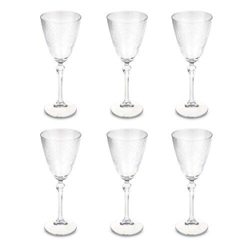 Resim Bianca Luna Sole 6 Parça Ayaklı Su Bardağı