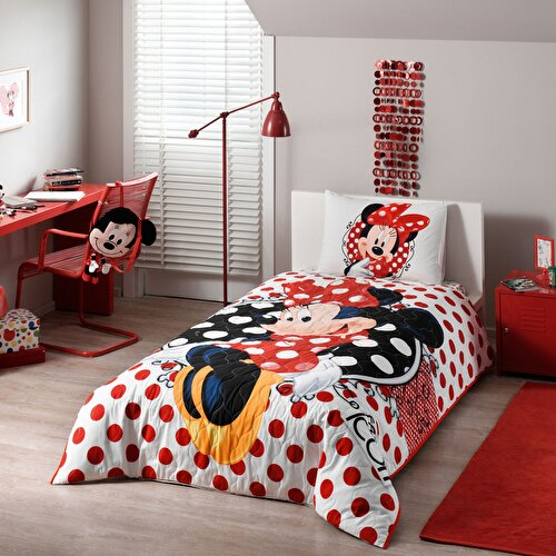 Resim Taç Disney Minnie Mouse Tek Kişilik Complete Set