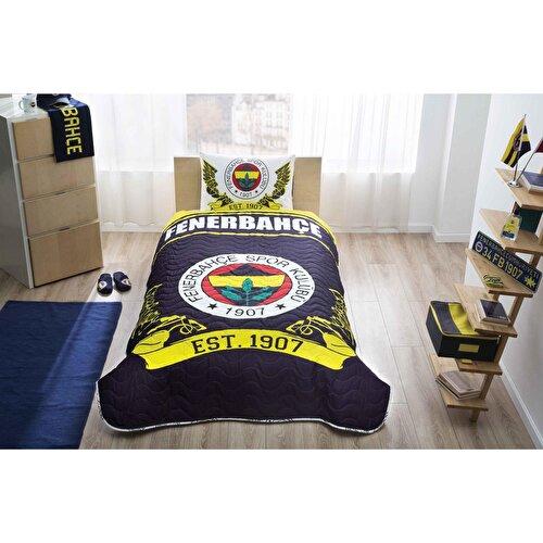 Resim  Fb Logo Tek Kişilik Yatak Örtüsü