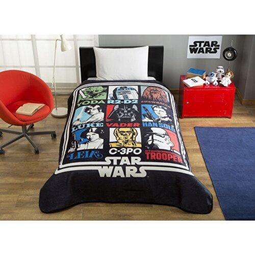 Resim Star Wars Force Tek Kişilik Battaniye