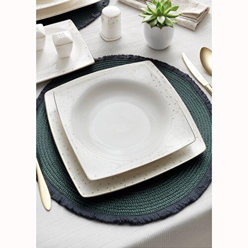 Resim Pierre Cardin Bellina 12 Kişilik 60 Parça Bone China Yemek Takı