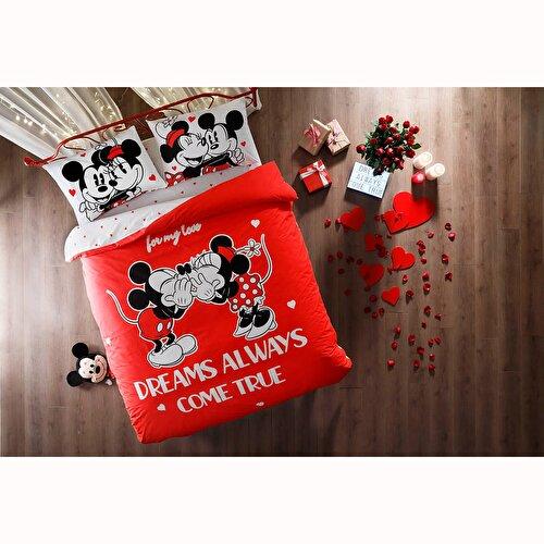 Resim Taç Disney Minnie&Mickey Dreams Glow Nevresim Takımı