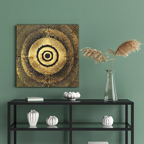 Resim Nouvelle  Abstract Circle Tablo