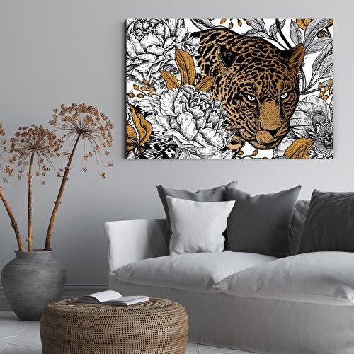 Resim Nouvelle  Abstract Jungle Tablo
