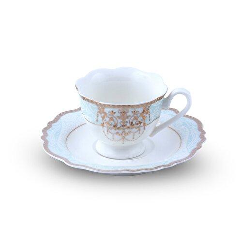 Resim Pierre Cardin Diamond 6'lı Kahve Fincan Takımı