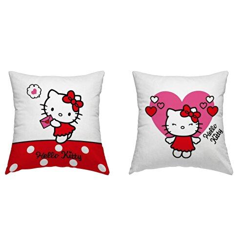 Resim Lisanslı Hello Kitty Team Kırlent