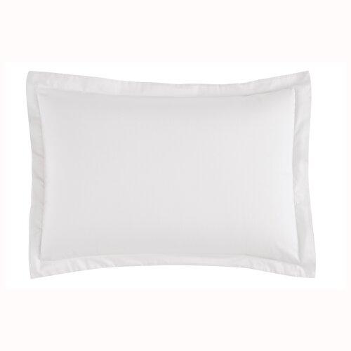 Resim Saten Basic Volanlı 2'li Yastık Kılıfı Seti