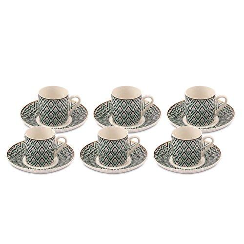 Resim Monica 6'lı Kahve Fincan Takımı