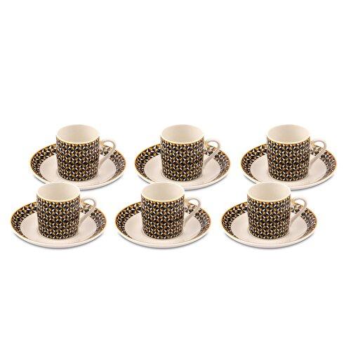 Resim Sandra 6'lı Kahve Fincan Takımı