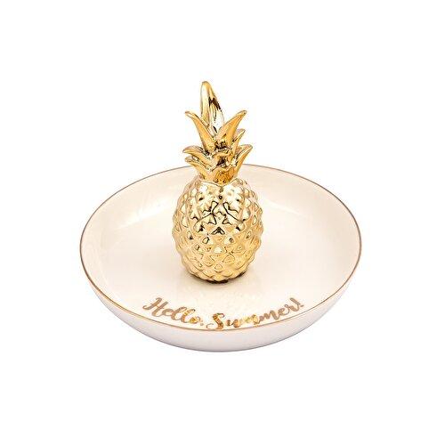 Resim Pineapple Dekoratif Tabak