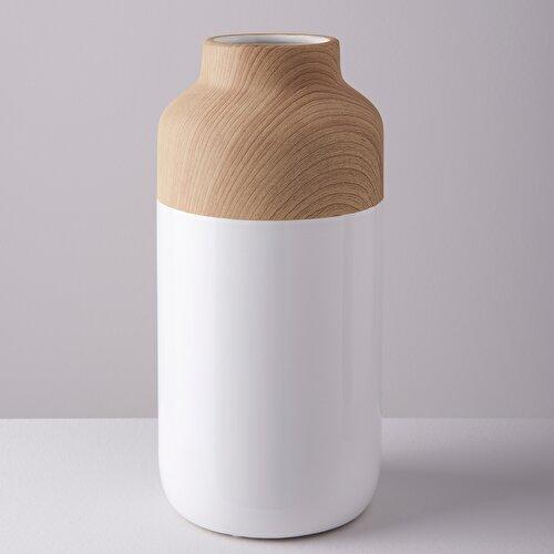 Resim Wood Vazo