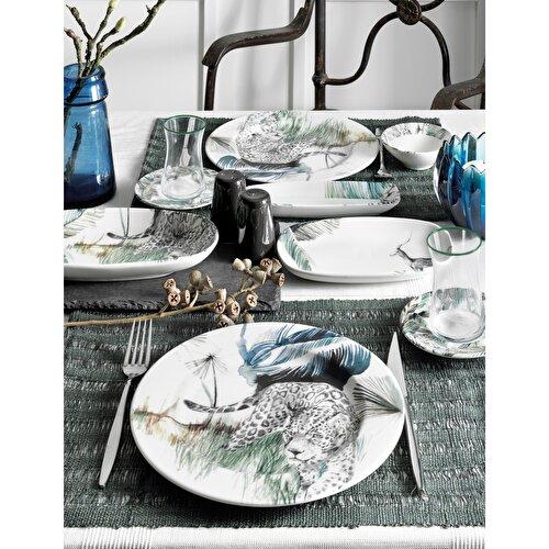 Resim Pierre Cardin Naomi 31 Parça 6 Kişilik Kahvaltı Takımı