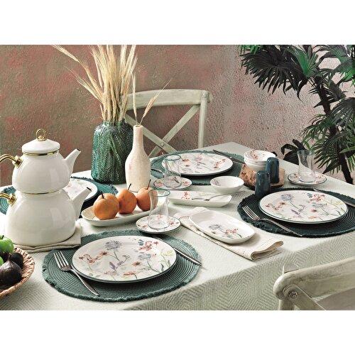 Resim Pierre Cardin Lotus 31 Parça 6 Kişilik Kahvaltı Takımı
