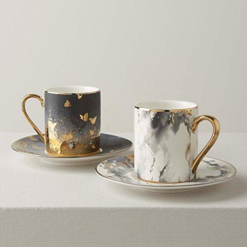 Resim Grey 6'lı Kahve Takımı