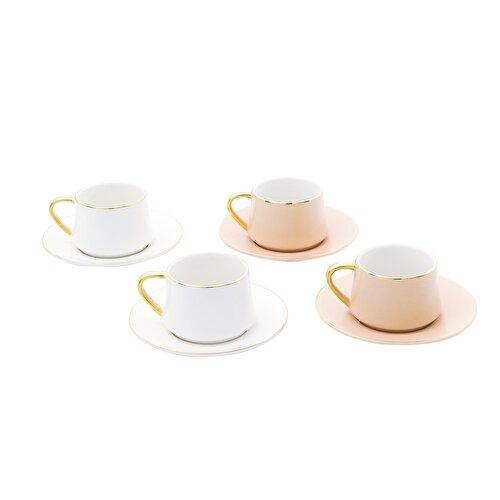 Resim Pierre Cardin Juno Soft 4'lü Kahve Fincanı