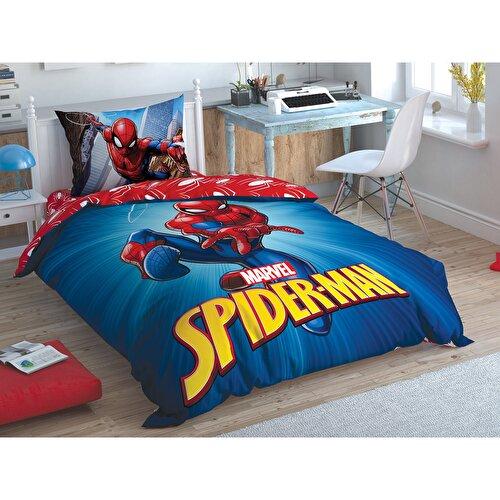 Resim Taç Spiderman Time To Move Tek Kişilik Nevresim Takımı