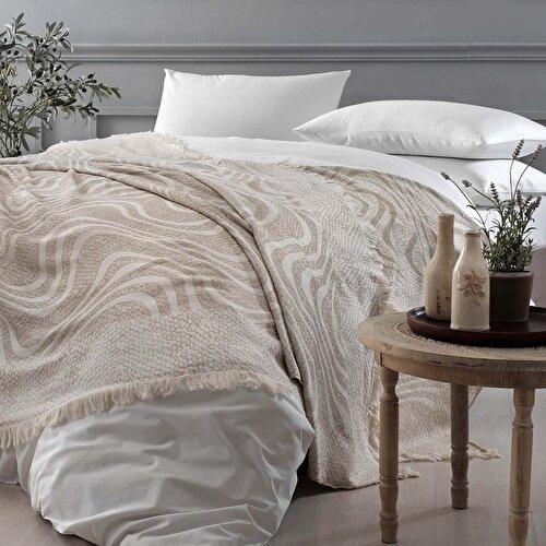 Resim Liza Tek Kişilik Yatak örtüsü