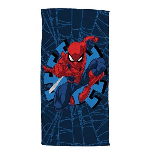 Resim Spiderman Web Plaj Havlusu